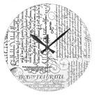 Italian clock calligr